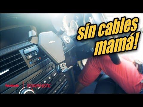 Carga TU MOVIL en el COCHE sin CABLES! (lo  Pedi para el BMW M3)
