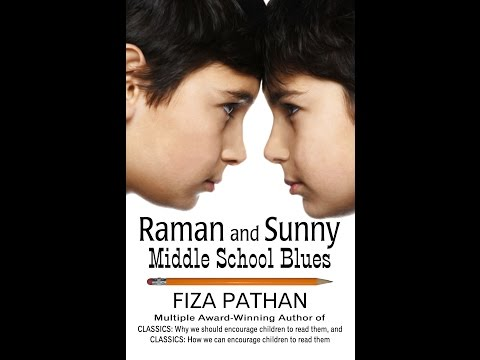Raman and Sunny: Middle School Blues Book Trailer
