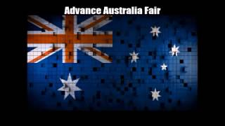 National Anthems of ANZUS (Australia, New Zealand and the USA) in Nightcore With Lyrics