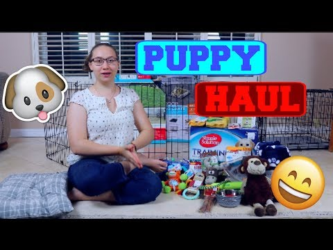 Ultimate Puppy Supply Haul Top Viral Videos