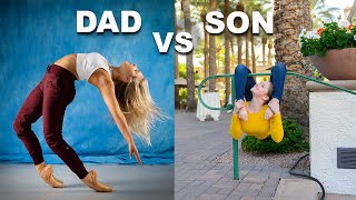 FATHER Vs SON PHOTO CHALLENGE (part 4)