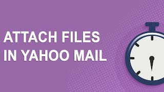 Attach files in Yahoo Mail