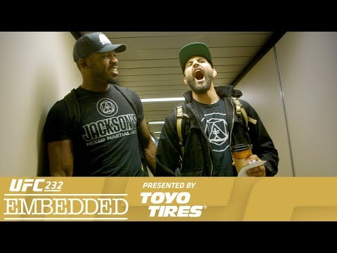 UFC 232 Embedded: Vlog Series - Episode 4