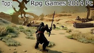 Top 5: Rpg/Role Playing Games 2014 Pc