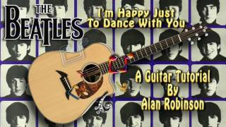I'm Happy Just To Dance With You - The Beatles - Acoustic Guitar Lesson