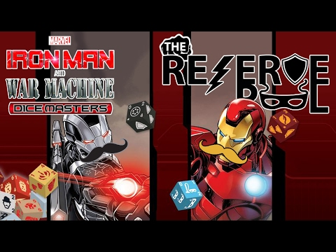 Dice Masters: Iron Man and War Machine Characters