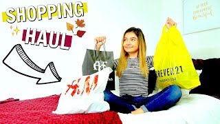 Girls Outfits FALL Shopping Haul   Forever 21 Abercrombie & Fitch H&M