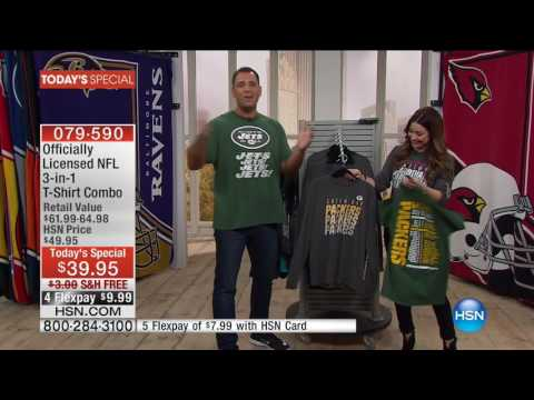 HSN | Football Fan Shop Season Kick Off 09.04.2016 - 11 AM