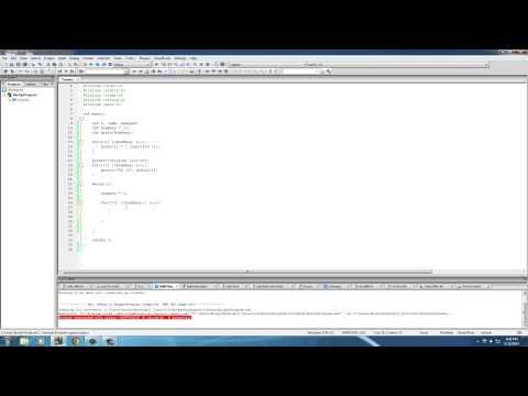 C Programming Tutorial – 41 – Sorting Arrays