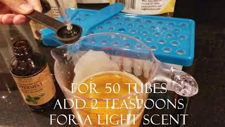 How To Make Lip Balm At Home: Organic DIY Lip Balm Recipe By Mary Tylor Naturals, Step By Step Guide
