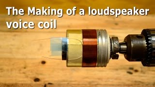 The Making of a loudspeaker voice coil