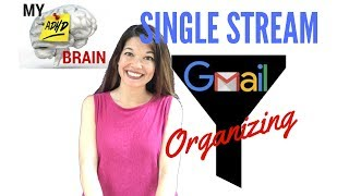 My ADHD Brain: How to Single Stream Your Email
