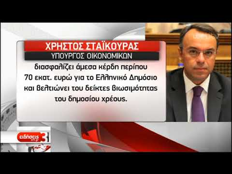 Στους Ευρωπαϊκούς θεσμούς το ελληνικό αίτημα για την αποπληρωμή του ΔΝΤ | 16/09/2019 | ΕΡΤ