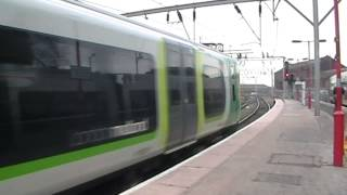 preview picture of video 'Various passenger trains at Wolverhampton 23/02/2013'