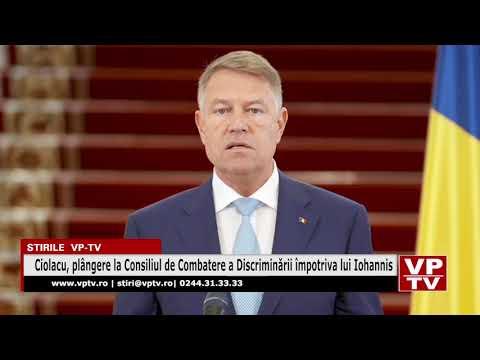 Ciolacu, plângere la Consiliul de Combatere a Discriminării împotriva lui Iohannis