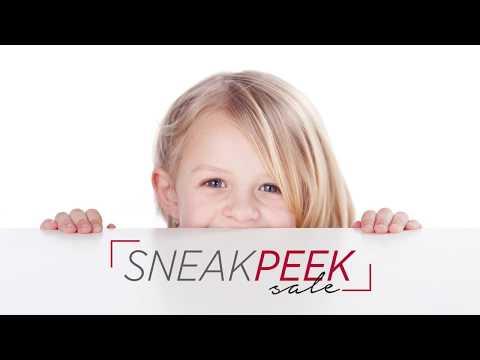Sneak Peak Sale