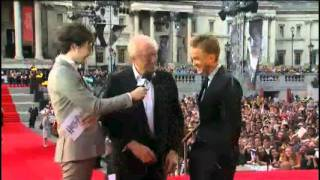 Том Фелтон, Michael Gambon & Tom Felton Talking About Harry Potter And The Deathly Hallows Part 2