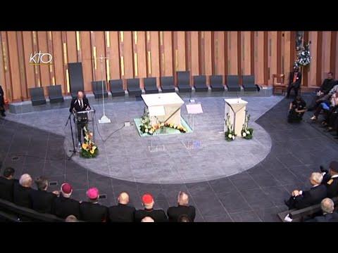 Cérémonie civile d'inauguration de la cathédrale de Créteil
