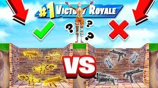 GOOD vs BAD LOOT DROPPER *NEW* Game Mode in Fortnite Battle Royale