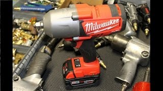 "Milwaukee M18 FUEL 2763-22 High Torque 1/2"" Impact Wrench"