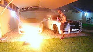 LIGHTING 10,000 MATCHES AT ONCE !!!