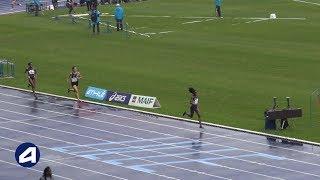 Villeneuve d'Ascq 2019 : 800 m F (Cynthia Anaïs en 2'06''19)