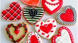 Cookies for Valentine's Day.
