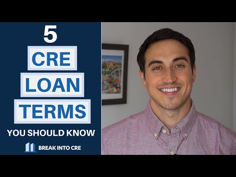5 Commercial Real Estate Loan Terms You Should Know - YouTube