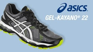Asics Gel Kayano 22 Men's Running Shoe video