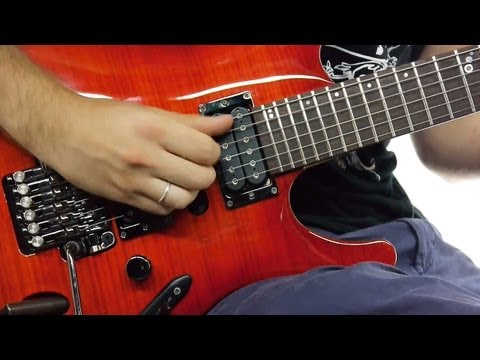 Steve Vai - The audience is listening Guitar Lesson | How to Play!