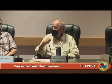 9.8.2021 Conservation Commission