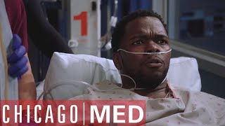 Dude! There's A Bullet In Your Heart! | Chicago Med