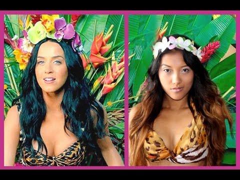 Katy Perry: Official Roar Music Video Look