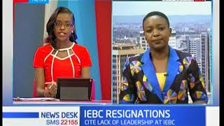 Details why Vice Chair Consolata Nkatha left IEBC