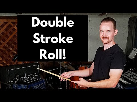 A double stroke roll exercise that is going to help you develop your stick control.