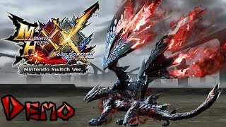 Monster Hunter XX Nintendo Switch Ver. | Valfalk Demo Gameplay