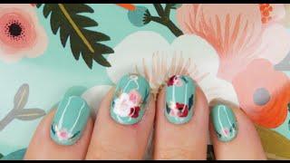Spring Floral Nail Art!
