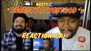 Nasty C Hot Freestyle On Wiggle   Westwood | (THATFIRE LA)