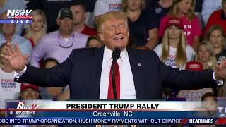 FULL RALLY: President Trump Rally in Greenville, North Carolina