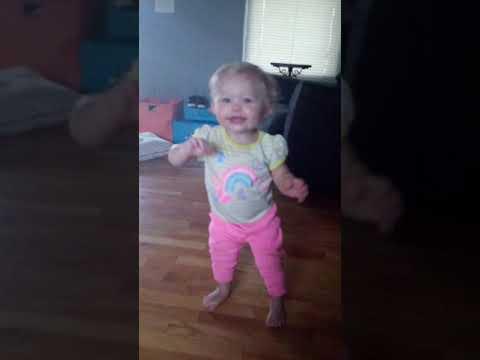 Lexa is walking