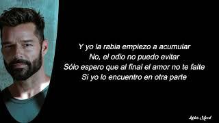Sebastián Yatra, Ricky Martin - Falta Amor LETRA