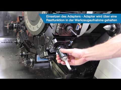 Werkzeugwechsel mit dem Modularen Schnellwechselsystem BENZ CAPTO™
