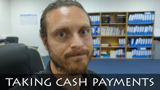 TAKING CASH PAYMENTS   AVOIDING TAX
