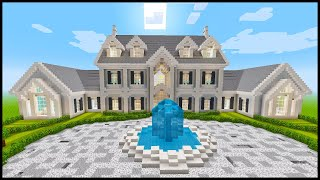 Minecraft: How To Build A Mansion #4 | PART 6 (Interior 2/5)