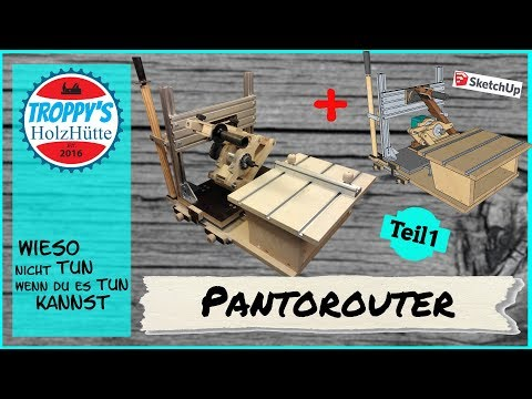 Pantorouter deutsch ..1/2.. für Makita Kantenfräse RT 0700C