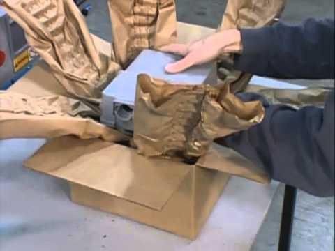 PadPak LC2 maszyna - wypełniacze papierowe - zdjęcie