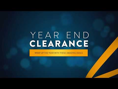 Year End Clearance - 2019