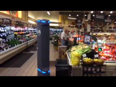 Забавные роботы Марти появятся в сотнях американских супермаркетов