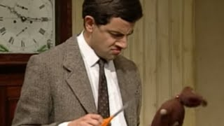 Cutting Teddy? | Mr. Bean Official