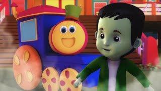 Bob xe lửa | Gia đình Halloween | lễ hội halloween cho trẻ em | Halloween Family | Kids Tv Vietnam